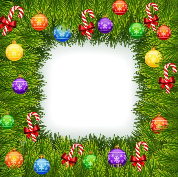 Скатерть Рождественские украшения (0135)