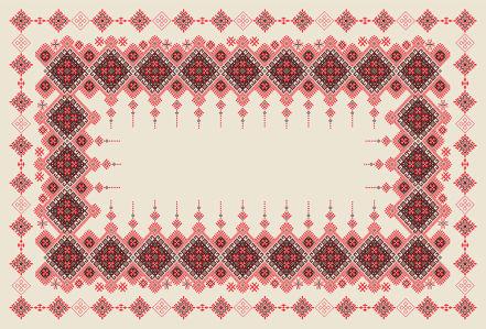 Скатерть Украинские мотивы (0180)