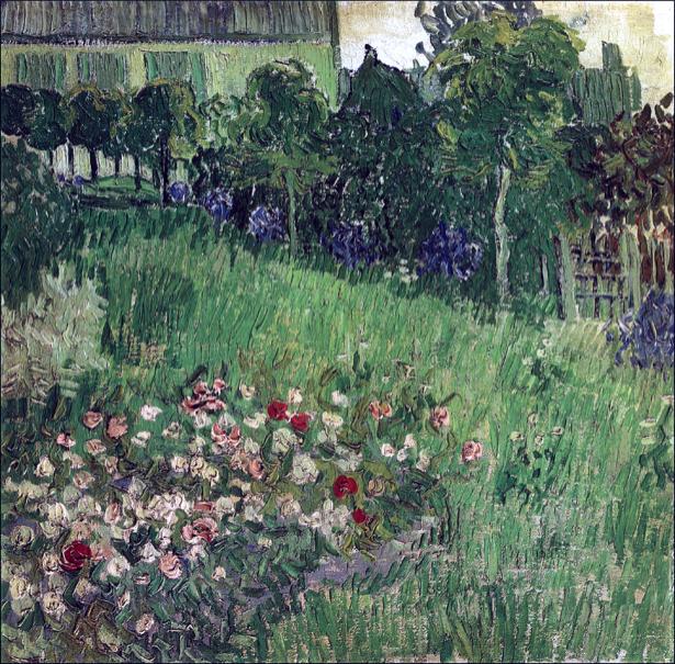 Живописные фотообои цветы -  Пейзаж сельский (art-0000177)