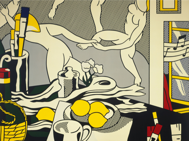 Рой Лихтенштейн, поп-арт (art-0000643)