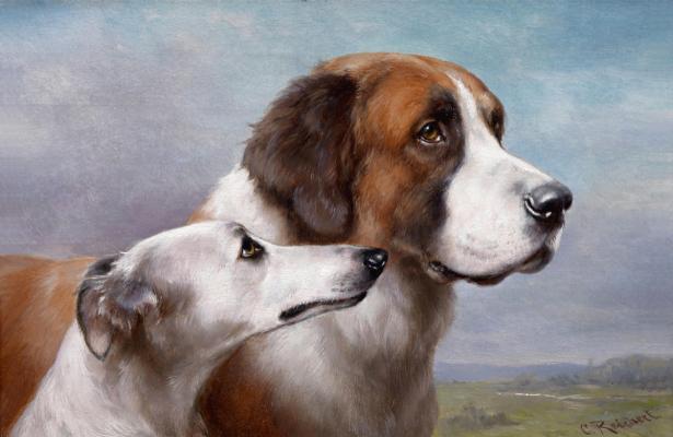 Фотообои Собаки Карл Рейчерт (art-0000779)