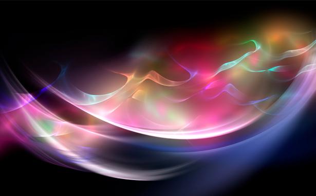 Фотообои световые лучи (background-0000189)