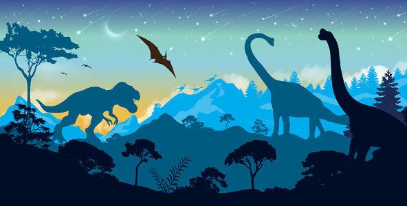 Фотообои мир динозавров (child-469)