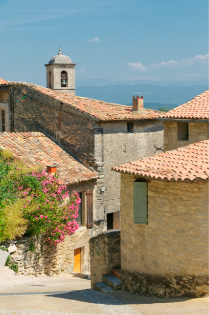 Фотообои Италия, улочка, старая улочка, цветы (city-0000232)