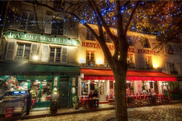 Фотообои ночная улица (city-0000512)