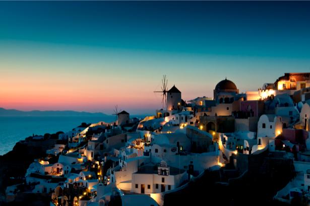 Греция Фотообои побережье (city-0000625)