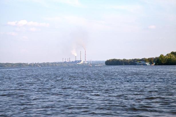 Фотообои Днепропетровск Днепр река (city-0000882)