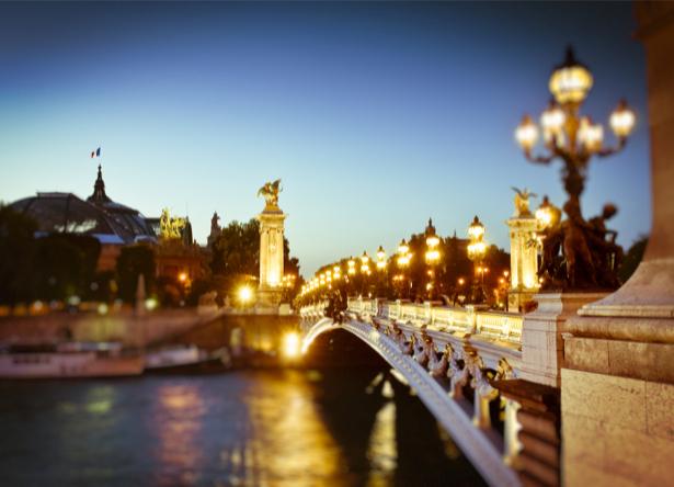 Фотообои Париж мост (city-0001122)