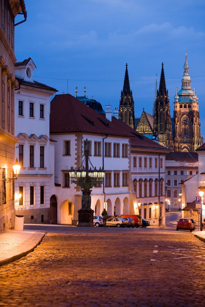 Фотообои Пражский Град (city-1452)