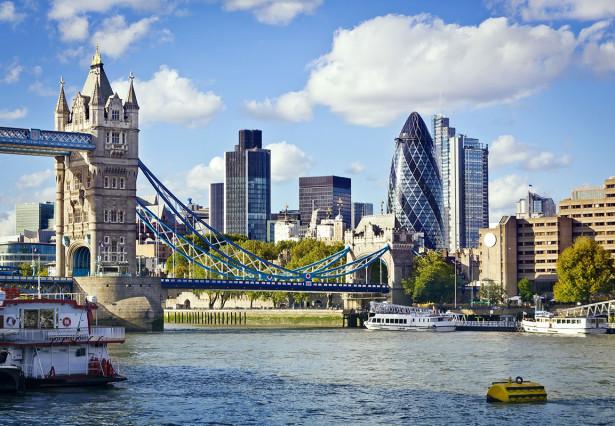 Фотообои Тауэрский мост на реке Темзе (city-1483)