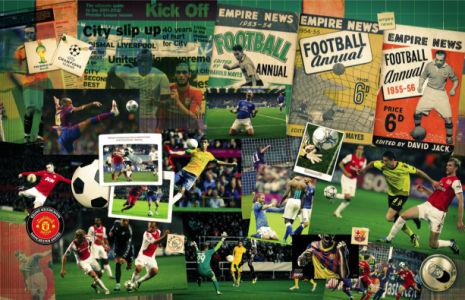 фотообои для кафе ресторанов футбол (commercial-00004)