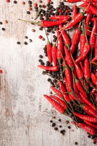 Фотообои для кухни горький перец (food-0000282)