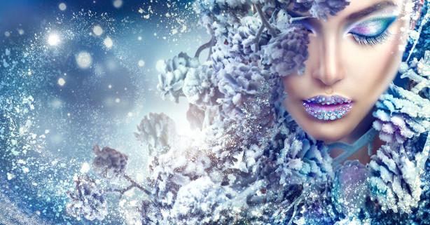 Фотообои Зимняя красавица (glamour-307)