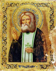 Икона Святой Серафим Саровский (icon-00081)
