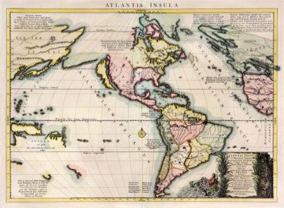 атлас, география, карты, старая карта (map-0000099)