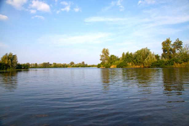Фотообои река Днепр устье (nature-0000662)