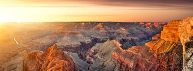 Фотообои на закате Гранд-Каньон (nature-0000747)