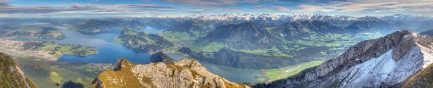Фотообои природные пейзажи горные вершины (nature-00154)