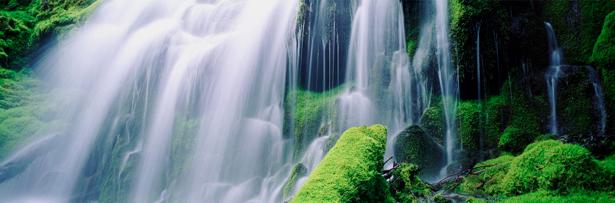 Фотообои горизонтальные природа водопад (nature-00385)