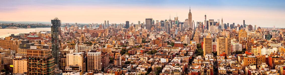 Фотообои горизонты Нью-Йорка (panorama-64)