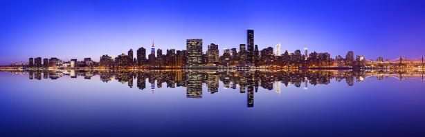 Фотообои горизонты Манхэттена (panorama-70)