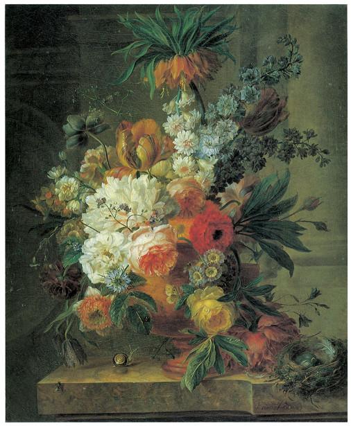 цветы в вазе натюрморт (pf-73)