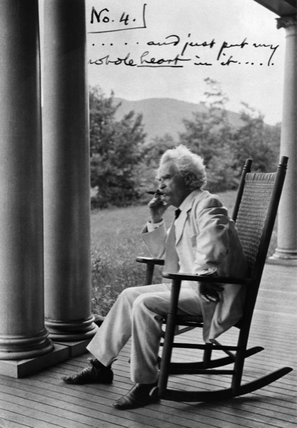 Марк Твен, писатель (retro-vintage-0000322)