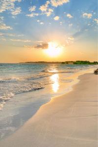 Фотообои море берег закат (sea-0000282)