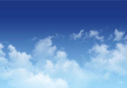 Фотообои голубое небо с облаками 1 (sky-0000111)
