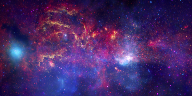 Фотообои скопление звезд (space-0000016)