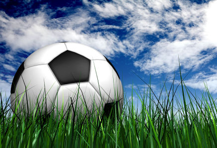Фотообои Футбольный мяч (sport-192)