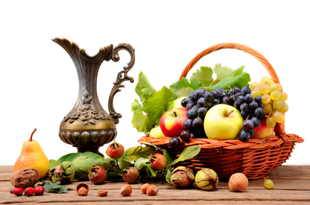 Фотообои фруктовая композиция (still-life-0004)