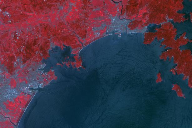Фотообои 3д красное побережье (terra-00057)