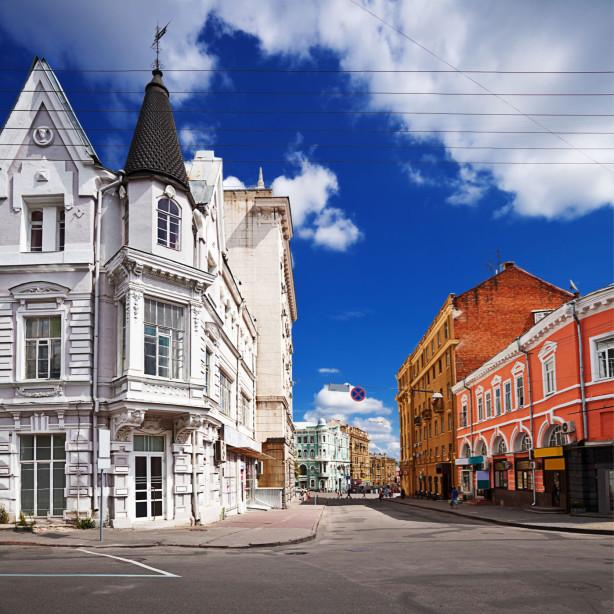 Фотообои Старые здания Харькова (ukr-3)