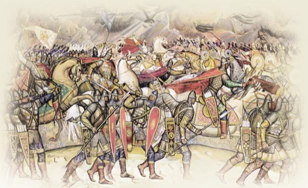 Битва русичей с половцами (ukraine-0029)