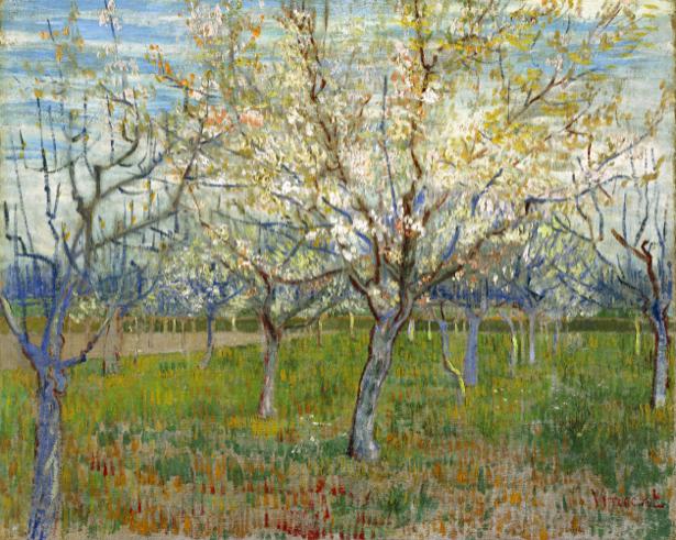 Ван Гог пейзаж (art-0000230)