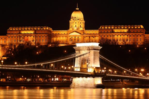 Фотообои Венгрия мост (city-0000446)