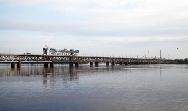Фотообои Днепропетровск ЖД мост (city-0000849)