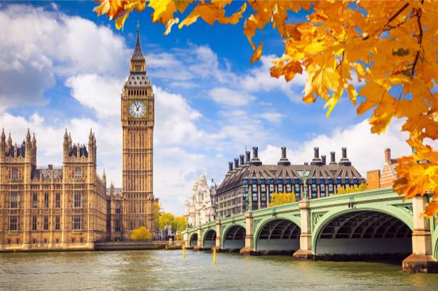 Фотообои осенний лондон (city-0001029)
