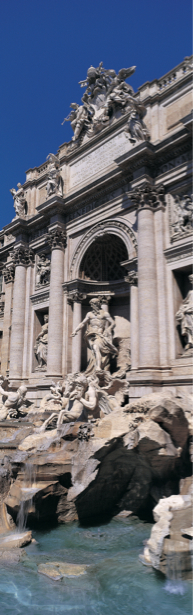 Фотообои фонтан де треви (city-0001109)