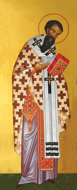 Икона Святитель Василий Великий (icon-00119)