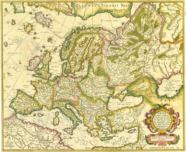 география, карты, старая карта (map-0000039)