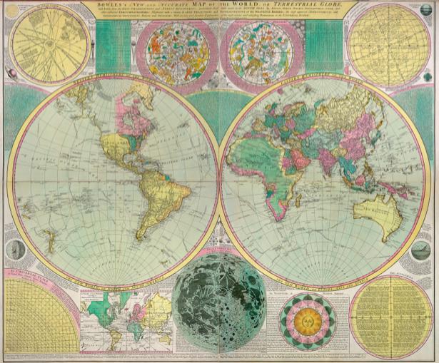 атлас, география, карты, старая карта (map-0000145)