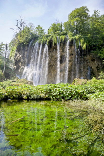 Фотообои природа фото горный водопад (nature-00374)