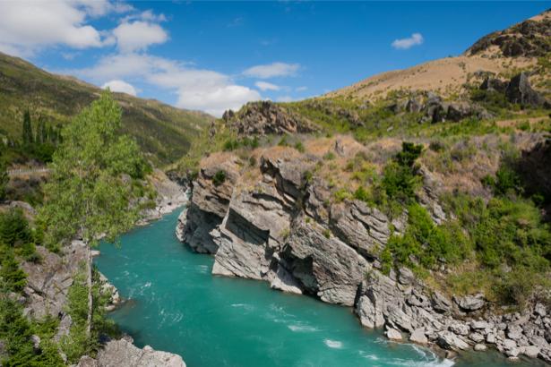 Фотообои горная река, горы (nature-00562)