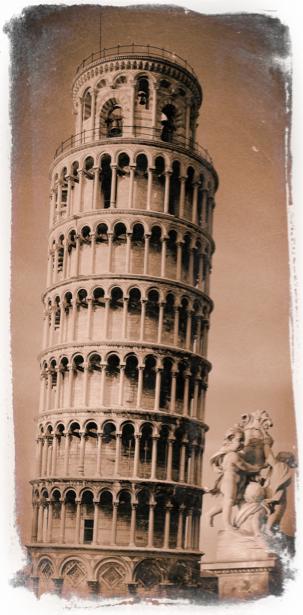Фотообои Пизанская башня (retro-vintage-0000148)