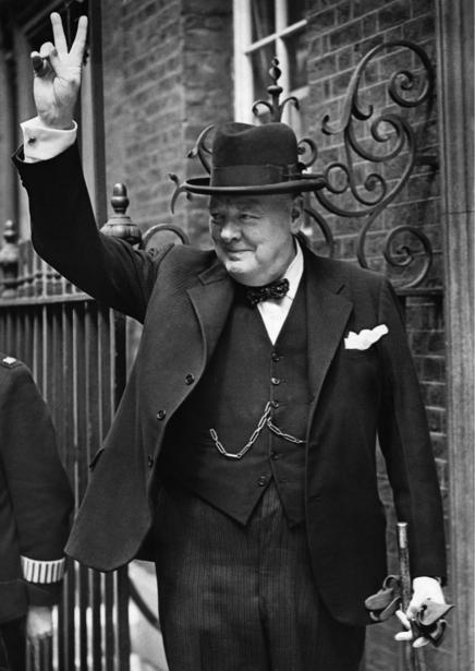 Фотообои Уинстон Черчилль (retro-vintage-0000359)