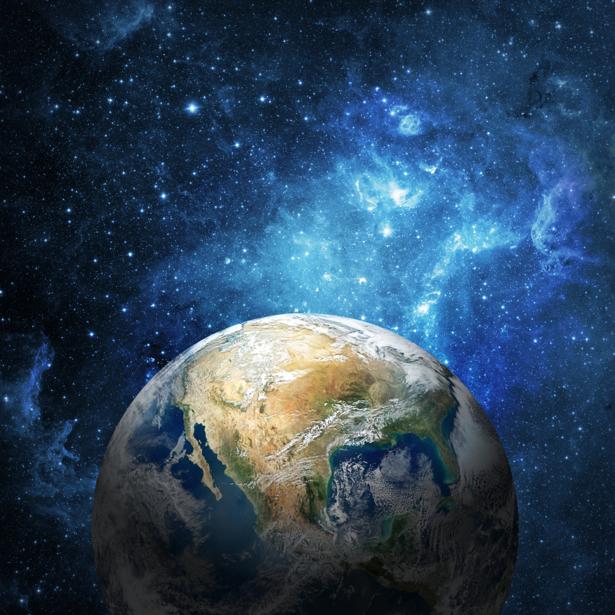 Фотообои планета космический пейзаж (space-0000073)