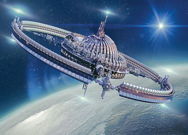 Фотообои космический корабль (space-92)