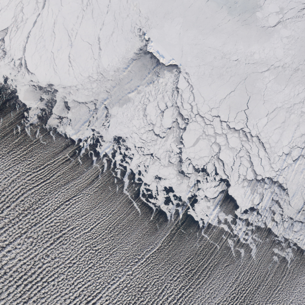 Фотообои снежный гребень (terra-00248)